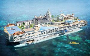 Предприниматели из богатого Монако хотят воздвигнуть плавучий город
