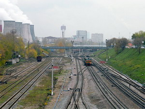 московские железные дороги