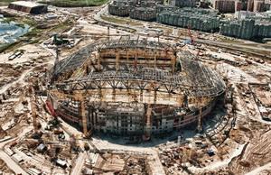 Семь новых стадионов построят под контролем Минспорта